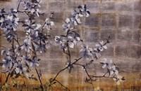 """Silver Dogwood by Liz Jardine - 36"""" x 24"""""""