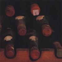 Vintage Wine Cellar II Framed Print