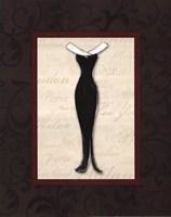 """Fashion Dress I by Susan Osborne - 16"""" x 20"""""""