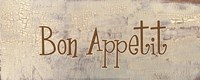 "Bon Appetit by Gilda Redfield - 20"" x 8"""