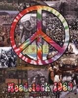 Woodstock Collage Framed Print