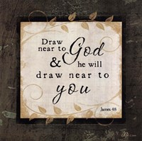 Draw Near To God Framed Print