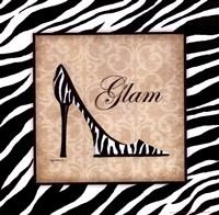 Glam Framed Print