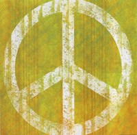 Yellow Peace Fine Art Print