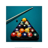 Pool Table I by Jim Rush - various sizes