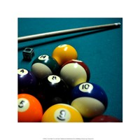 Pool Table II Fine Art Print