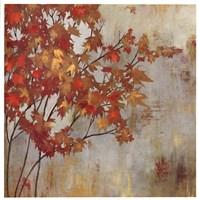 "Golden Foliage by Asia Jensen - 27"" x 27"", FulcrumGallery.com brand"
