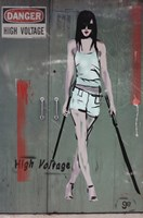 High Voltage Wall Poster