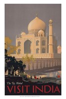 Taj Mahal - Visit India - various sizes