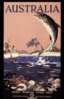 Australia - Great Barrier Reef Framed Print