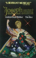 "Joseph and the Amazing Technicolor Dreamcoat (Broadway) - 11"" x 17"", FulcrumGallery.com brand"