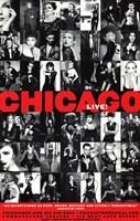 "Chicago (Broadway) - style B - 11"" x 17"", FulcrumGallery.com brand"