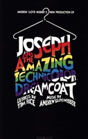 Joseph and the Amazing Technicolor Dreamcoat (Broadway) - style A Fine Art Print