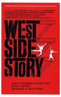West Side Story Red Framed Print