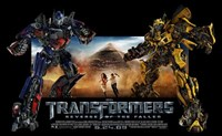 Transformers 2: Revenge of the Fallen - style D Fine Art Print