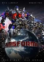 "11"" x 17"" Transformers"