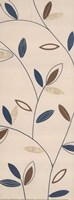 Blue Leaf Stem Fine Art Print