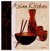 Asian Kitchen Fine Art Print