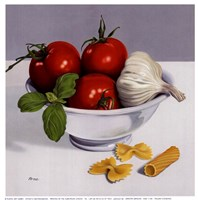 Italian Cooking Fine Art Print
