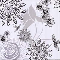 "White Shadow  Lace by Kate Knight - 12"" x 12"", FulcrumGallery.com brand"