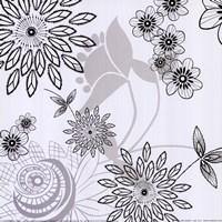 White Shadow  Lace Fine Art Print