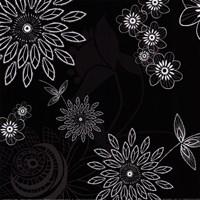 Shadow Lace Floral Fine Art Print