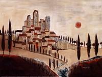 """San Gimignano by Tomasyn De Winter - 16"""" x 12"""" - $12.49"""