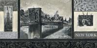 "New York  5 by Claudio Ancilotti - 39"" x 20"""