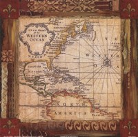 """Corners of the Earth - Detail I by s - 12"""" x 12"""" - $10.49"""