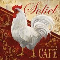 """Soliel Cafe by Conrad Knutsen - 12"""" x 12"""", FulcrumGallery.com brand"""