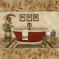 Crimson Moment I Fine Art Print