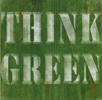 Think Green Fine Art Print