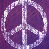 Purple Peace Fine Art Print