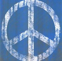 Blue Peace Fine Art Print