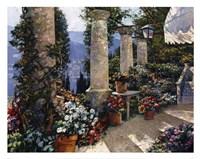 Hotel Capri Framed Print
