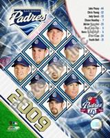 """2009 San Diego Padres Team Composite, 2009 - 8"""" x 10"""", FulcrumGallery.com brand"""
