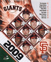 2009 San Francisco Giants Team Composite