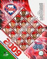 "2009  Phillies Composite, 2009 - 8"" x 10"""