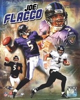 Joe Flacco 2009 Portrait Plus Fine Art Print