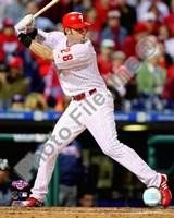 "Jayson Werth 2009 Batting Action - 8"" x 10"", FulcrumGallery.com brand"