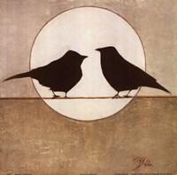 Birdies II Framed Print