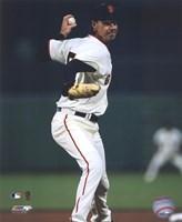 "Randy Johnson 2009 Pitching Action - 8"" x 10"""