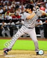 "Todd Helton 2009 Batting Action - 8"" x 10"", FulcrumGallery.com brand"