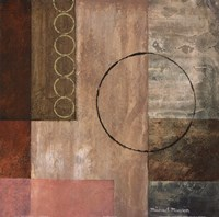 """Circles in the Abstract II by Michael Marcon - 18"""" x 18"""""""