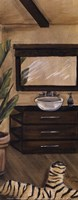 Hollywood Bath II Panel Fine Art Print