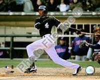 "Alexei Ramirez 2009 Batting Action - 10"" x 8"", FulcrumGallery.com brand"