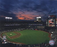 2009 Citi Field Inaugural Game / Night Shot Fine Art Print