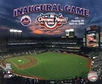 "2009 Citi Field Inaugural Game, 2009 - 10"" x 8"""