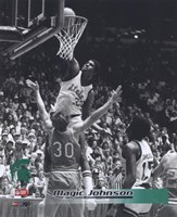 Magic Johnson Michigan State Fine Art Print