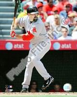 "Kevin Youkilis - 2009 Batting Action - 8"" x 10"", FulcrumGallery.com brand"